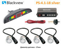 Парктроник Blackview PS-4.1-18 17мм, белые
